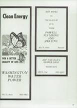 1975 Moscow High School Yearbook Page 186 & 187