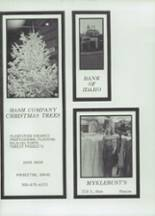 1975 Moscow High School Yearbook Page 196 & 197
