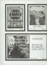 1975 Moscow High School Yearbook Page 202 & 203