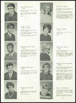 1967 Lima High School Yearbook Page 28 & 29