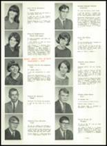 1967 Lima High School Yearbook Page 30 & 31
