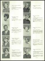 1967 Lima High School Yearbook Page 36 & 37