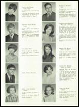 1967 Lima High School Yearbook Page 58 & 59