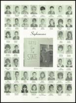 1967 Lima High School Yearbook Page 108 & 109