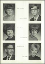 1967 Dunlap Community High School Yearbook Page 20 & 21