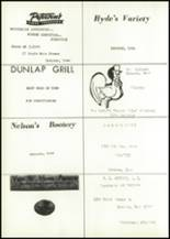 1967 Dunlap Community High School Yearbook Page 116 & 117