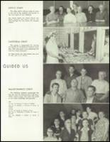 1958 Lew Wallace High School Yearbook Page 22 & 23