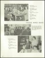 1958 Lew Wallace High School Yearbook Page 24 & 25