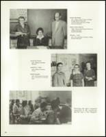1958 Lew Wallace High School Yearbook Page 28 & 29