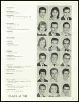 1958 Lew Wallace High School Yearbook Page 34 & 35