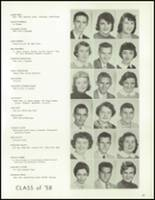 1958 Lew Wallace High School Yearbook Page 36 & 37