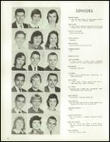 1958 Lew Wallace High School Yearbook Page 38 & 39