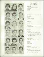 1958 Lew Wallace High School Yearbook Page 40 & 41