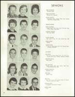 1958 Lew Wallace High School Yearbook Page 42 & 43