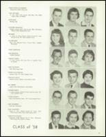 1958 Lew Wallace High School Yearbook Page 44 & 45