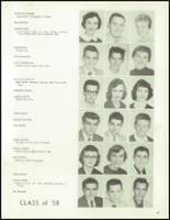 1958 Lew Wallace High School Yearbook Page 46 & 47