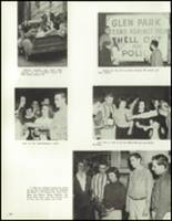 1958 Lew Wallace High School Yearbook Page 64 & 65