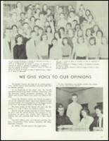 1958 Lew Wallace High School Yearbook Page 74 & 75