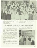 1958 Lew Wallace High School Yearbook Page 76 & 77