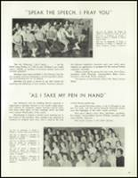 1958 Lew Wallace High School Yearbook Page 80 & 81