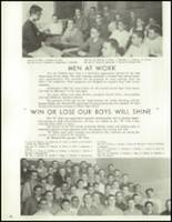 1958 Lew Wallace High School Yearbook Page 90 & 91