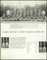 1958 Lew Wallace High School Yearbook Page 100 & 101