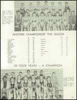 1958 Lew Wallace High School Yearbook Page 108 & 109