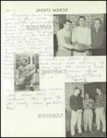 1958 Lew Wallace High School Yearbook Page 114 & 115