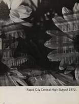 1972 Rapid City Central High School Yearbook Page 162 & 163