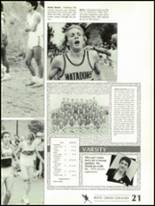 1988 Shadow Mountain High School Yearbook Page 24 & 25