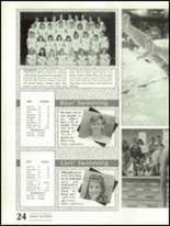 1988 Shadow Mountain High School Yearbook Page 28 & 29