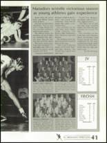 1988 Shadow Mountain High School Yearbook Page 44 & 45