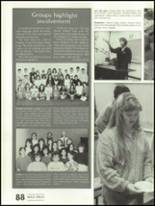 1988 Shadow Mountain High School Yearbook Page 92 & 93