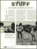 1988 Shadow Mountain High School Yearbook Page 154 & 155