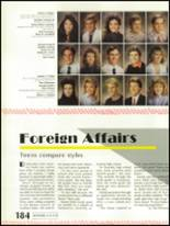 1988 Shadow Mountain High School Yearbook Page 188 & 189