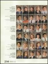 1988 Shadow Mountain High School Yearbook Page 218 & 219