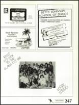 1988 Shadow Mountain High School Yearbook Page 250 & 251