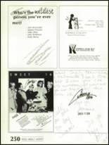 1988 Shadow Mountain High School Yearbook Page 254 & 255
