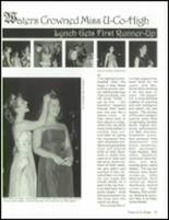 2001 Union County High School Yearbook Page 38 & 39