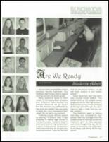 2001 Union County High School Yearbook Page 46 & 47