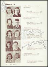 1940 Amherst Central High School Yearbook Page 32 & 33