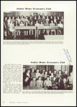 1940 Amherst Central High School Yearbook Page 56 & 57
