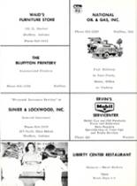 1966 Liberty Center High School Yearbook Page 86 & 87