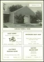 1963 Tarboro High School Yearbook Page 160 & 161