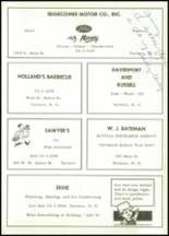 1963 Tarboro High School Yearbook Page 164 & 165