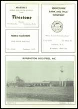 1963 Tarboro High School Yearbook Page 166 & 167
