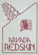 1984 Yearbook Arvada High School