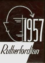 1957 Yearbook Rutherford High School