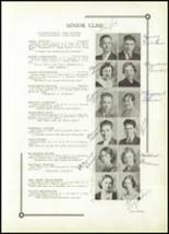 1933 Benton High School Yearbook Page 14 & 15