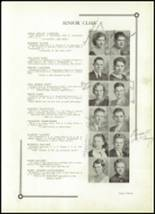 1933 Benton High School Yearbook Page 18 & 19